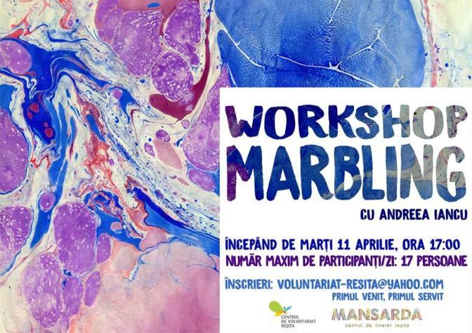 Workshop Marbling