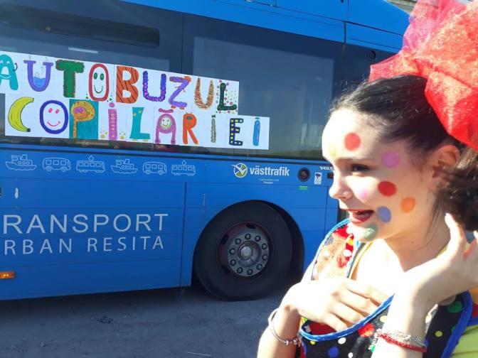 1 Iunie – Autobuzul Copilariei